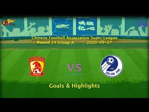 [CSL] 20200927 Round 14 Group A Guangzhou Evergrande vs Dalian Professional