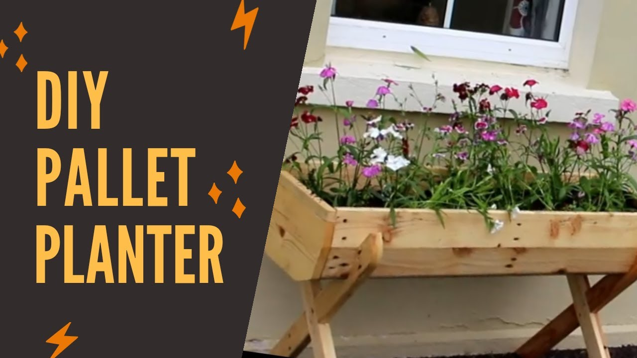 diy wood pallet projects - HOW TO WOOD PALLET PLANTER ...