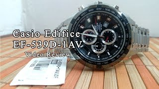 Casio Edifice EF-539D-1AV Un-Boxing | Best Edifice Watch to buy