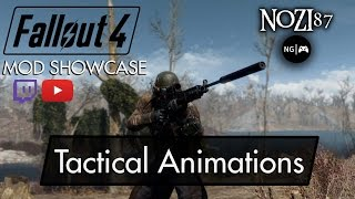 Fallout 4 Mod Showcase Tactical Animations by L0rdOfWar uploaded by Amoveve