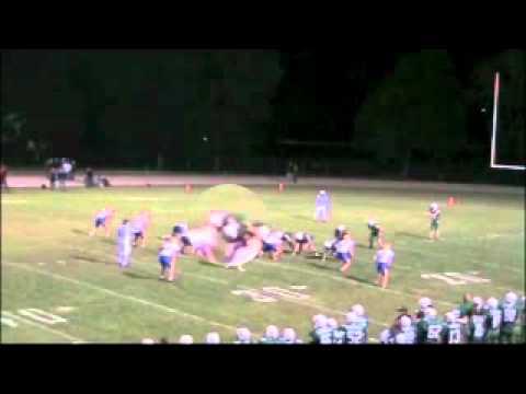 Levi Singler - Shiocton High School 2011 Football Season Highlights