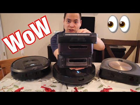 which-one-for-you-🤔-proscenic-m7-pro-vs-irobot-roomba-s9+-and-i7+-challenge-😳