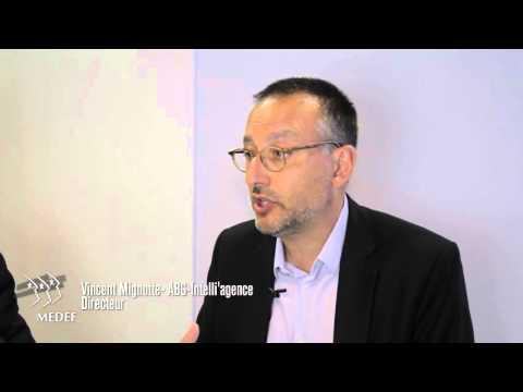 Les rencontres de l'EIC, Patrick Schmitt MEDEF - Vincent Mignotte   DocPro