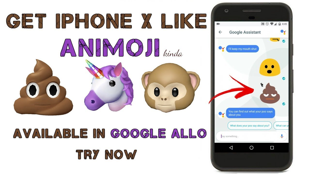 Get Apple IPhone X Like Animoji On Android Pre Animated Emoji