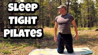 Pilates Evening Sleep Routine - 30 Day Pilates Challenge