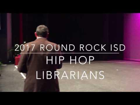Hip Hop Librarians: RRISD Book Cart Drill Team 2017