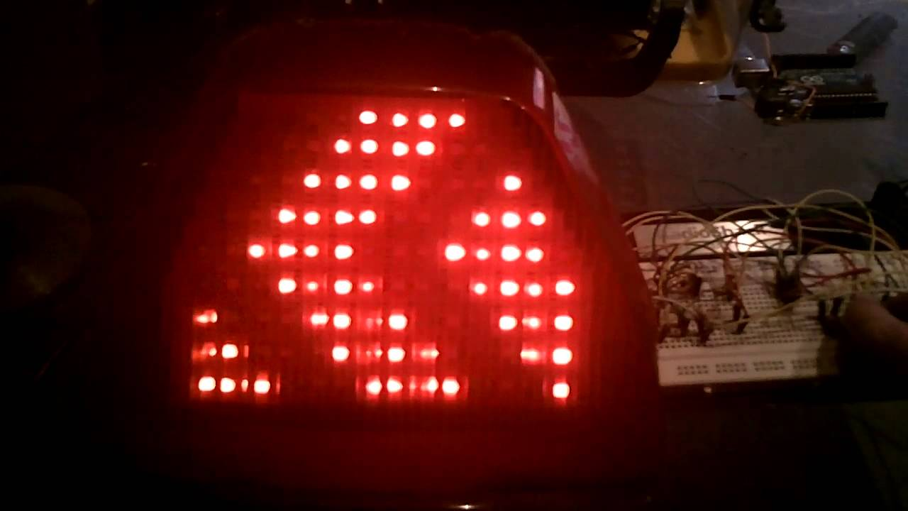 Homemade Diy Integrated Motorcycle Led Tail Light Youtube