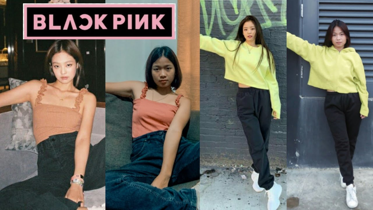 [VIDEO] - COPYING BLACKPINK JENNIE'S OUTFITS USING UKAY UKAY 1
