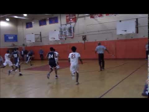 Tyler Saint-Furcy dunk against Flushing High School on 2/15/18
