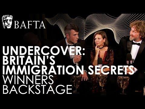 Undercover: Britain's Immigration Secrets team discuss winning a BAFTA | BAFTA TV Awards 2018
