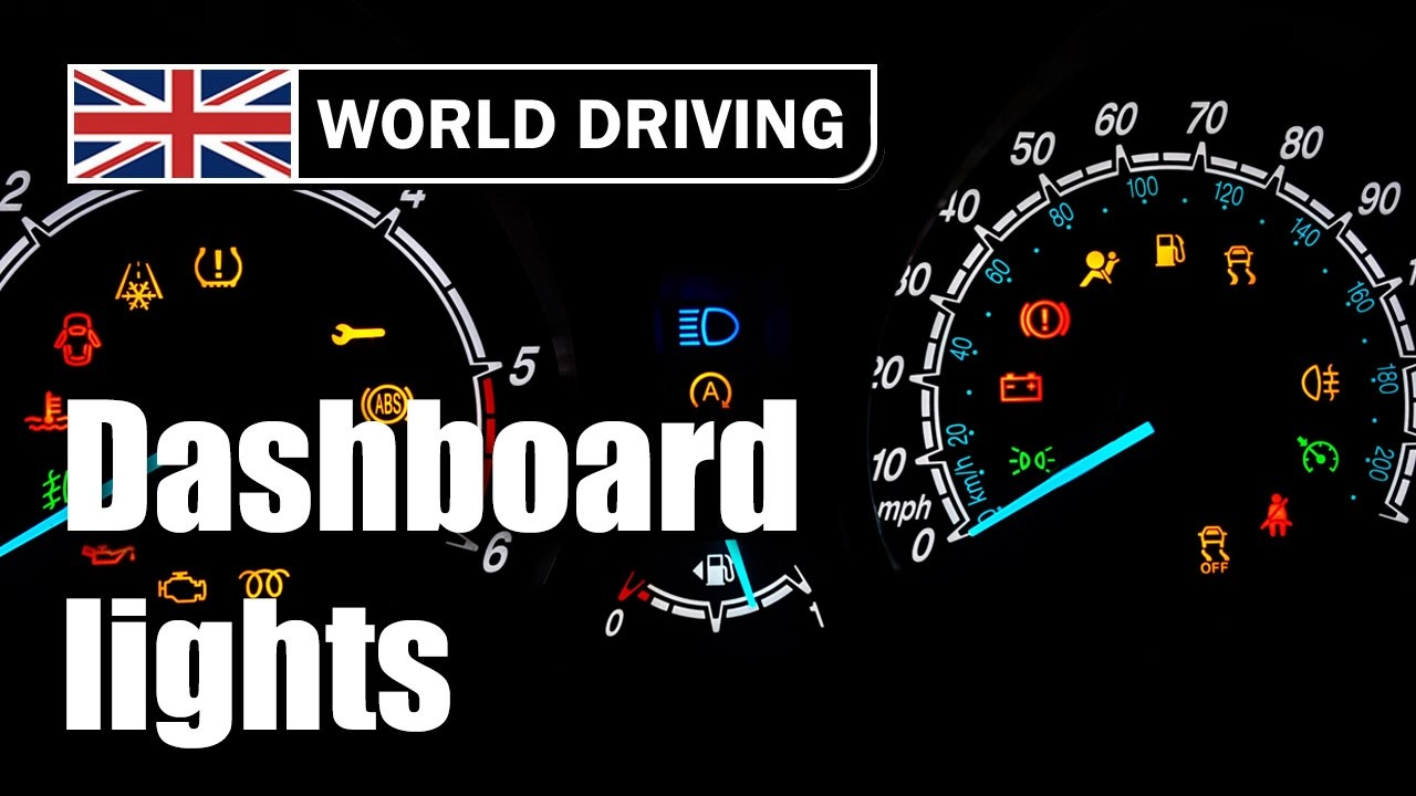dashboard warning lights and indicators [ 1280 x 720 Pixel ]
