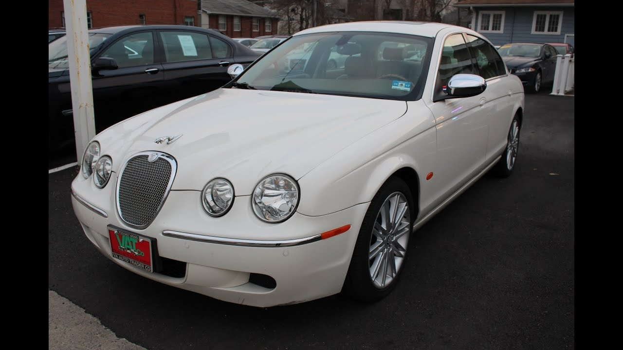 2008 jaguar s type 3 0 4dr sedan luxury for sale in arlingto youtube. Black Bedroom Furniture Sets. Home Design Ideas