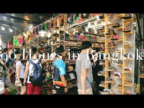 GOING CRAZY IN CHATUCHAK! | #96HoursInBangkok | Karla Aguas