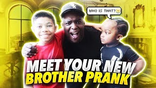 "MEET YOUR NEW BROTHER PRANK ON WOO WOP |  "" UNBELIEVABLE ENDING """