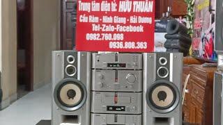 4/3 Test chi tiết dàn âm thanh Sony MD717 Đỉnh cao công nghệ âm thanh Gửi Khách Thanh Hoá