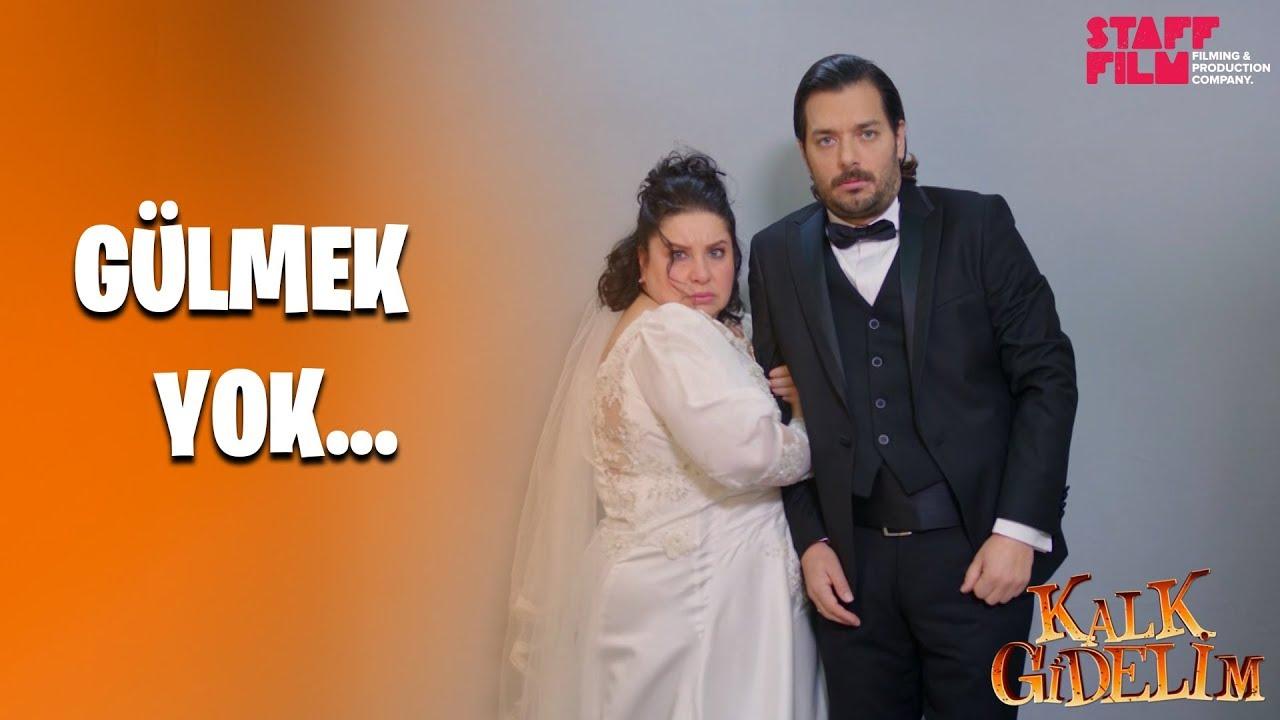 Kalk Gidelim 56. Bölüm - Meryem ve Ercan'ın düğün fotoğrafları!