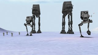 Star Wars Rogue Squadron 3D -  Battle of Hoth (HD)
