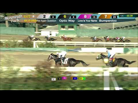 video thumbnail for MONMOUTH PARK 10-17-20 RACE 8