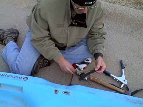 How To Install or Repair a Kayak Handle
