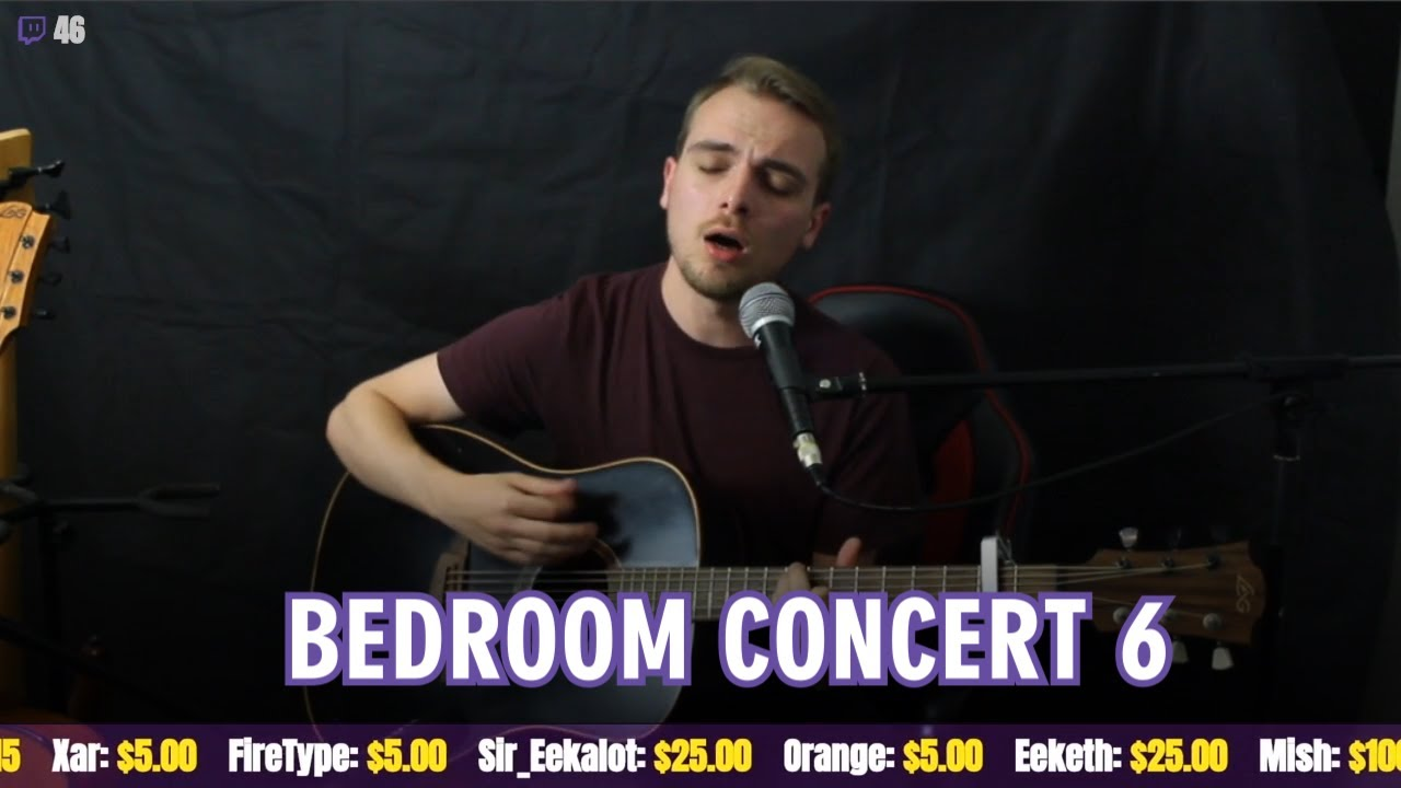 Bedroom Concert 6: Return of the Jack (Livestream Replay)