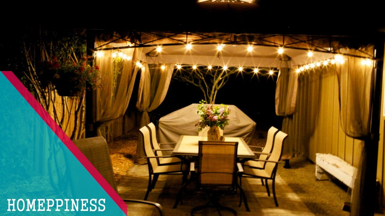 Outdoor decor 30 nice gazebo decorating ideas with for Idea deco guijarro exterior