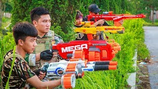 LTT Nerf War : SEAL X Warriors Nerf Guns Fight Criminal Group Rescue Captain Squad