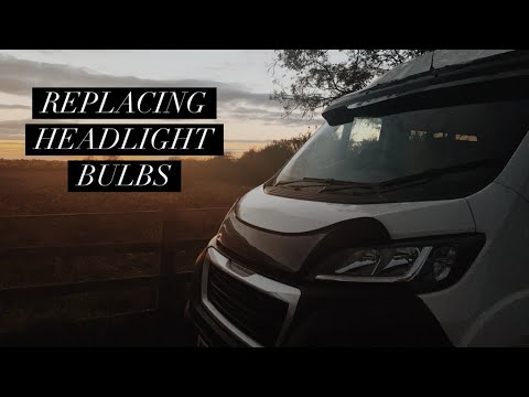 HOW TO REPLACE HEADLIGHT BULBS – Peugeot Boxer Van Conversion