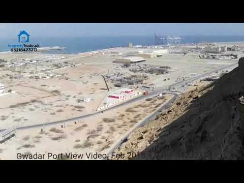 Gwadar City Port View. Feb.2018