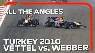 Vettel And Webber's Dramatic Collision - All The Angles | 2010 Turkish Grand Prix