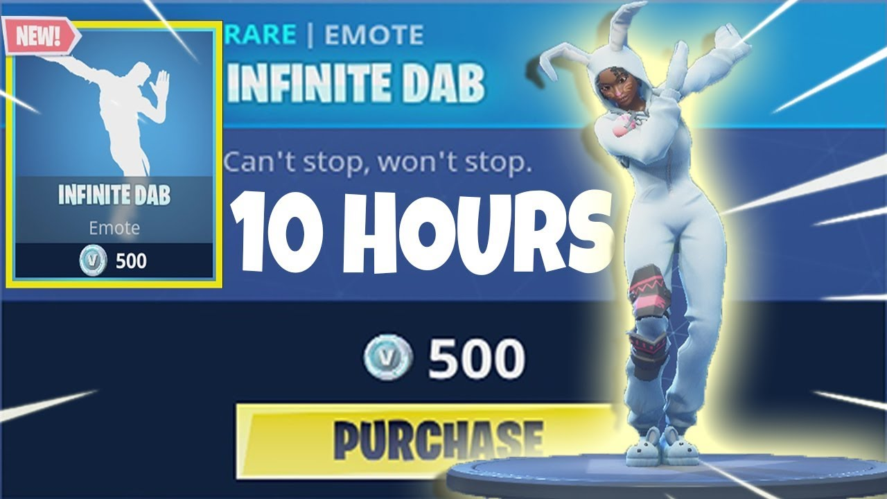 fortnite infinite dab