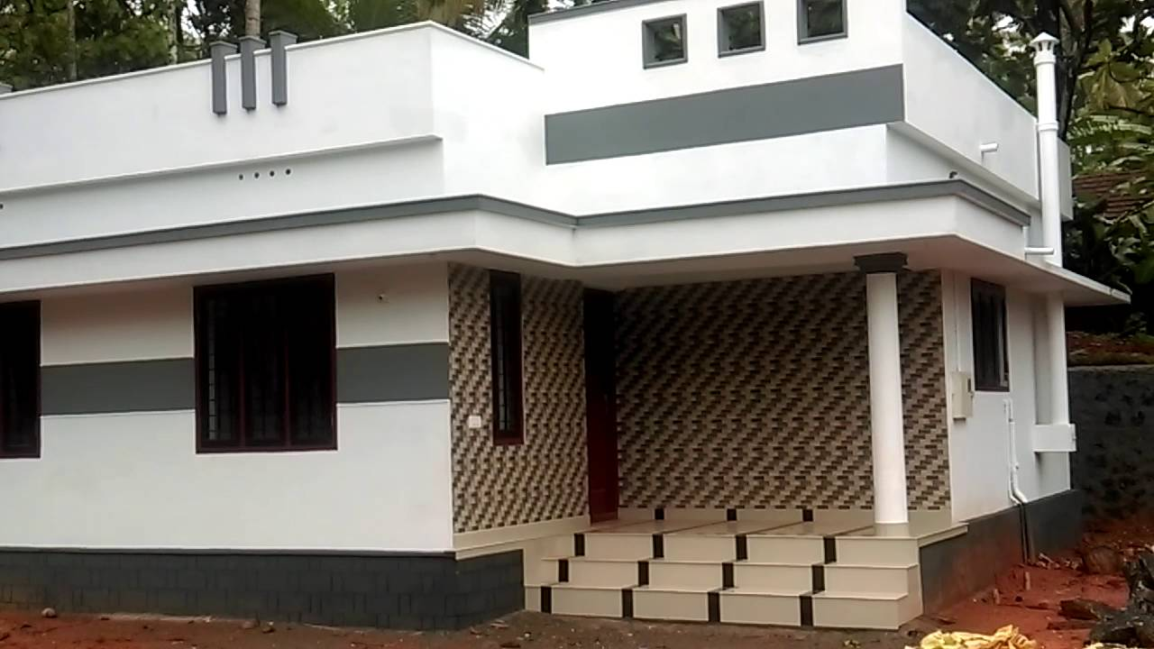 5 5 cent plot and 2 bhk house at shastamkadav thrissur for House in 2 cent