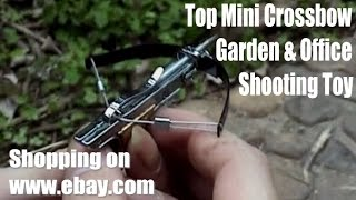 mini crossbow 5 9 lb draw force made by full stainless steel shooting targets