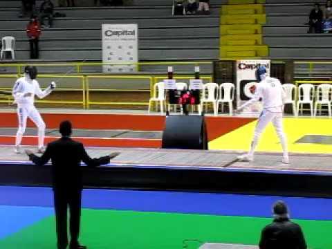 Bogota Grand Prix 2009 - Semi Final 1  Grumier vs Rota  Part 1
