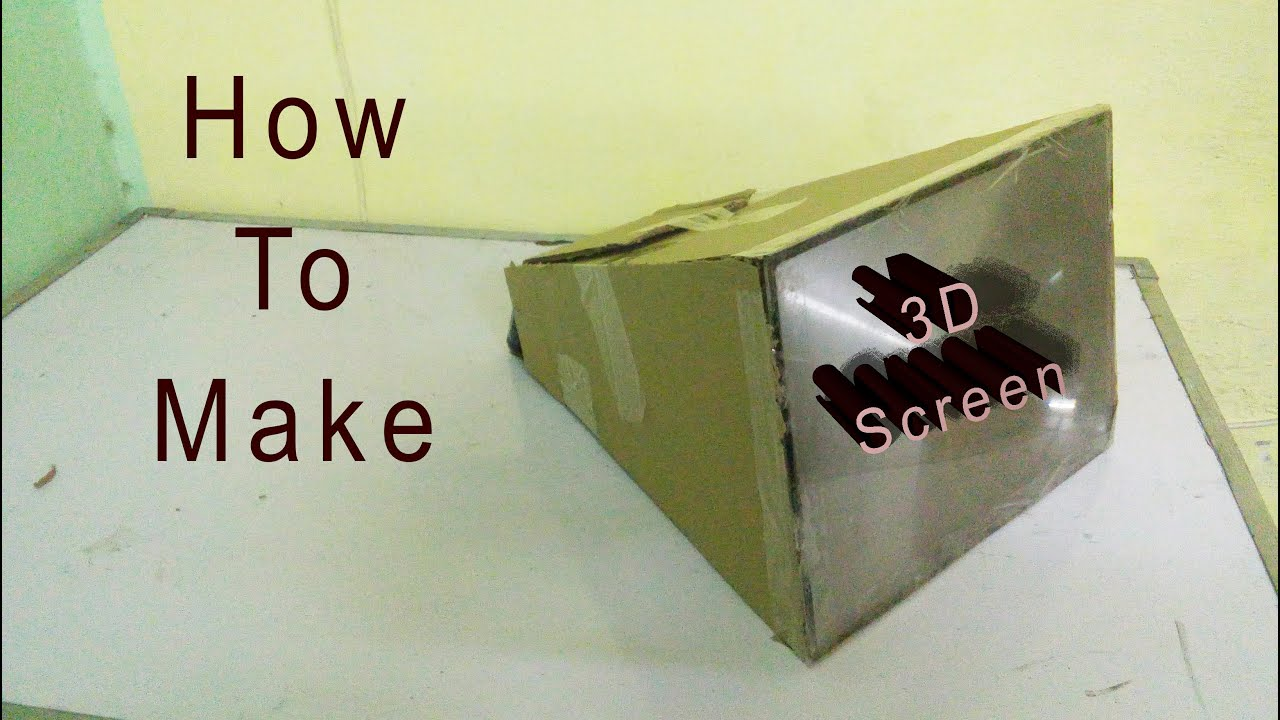 How To Make 3d Tv Big Screen From Your Android Mobile