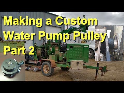 Making A Custom Water Pump Pulley Part 2