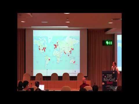 RubyConf Taiwan 2015-Day1 R2 01 Grzegorz Witek:From international to global