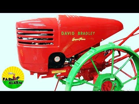 Restoring a David Bradley Super Power Garden Tractor on Steel Wheels  and Cart Build