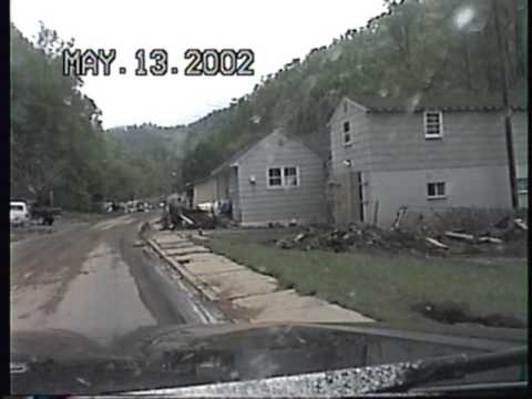 Flooding in McDowell County, WV 2002