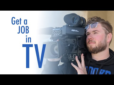 GET HIRED AS A JOURNALIST - How I Became A TV News Photographer
