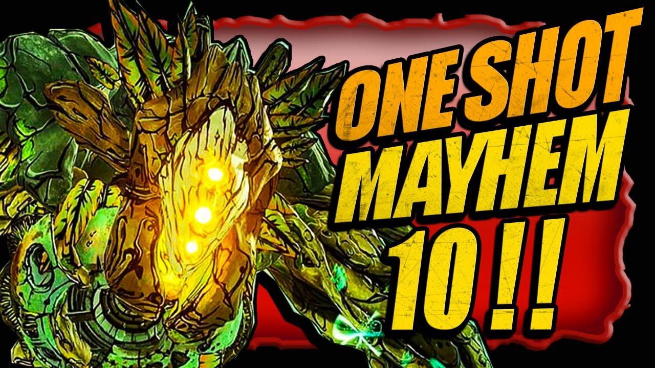 WHOA!! ONE SH0T Graveward on MAYHEM 10!! BORDERLANDS 3