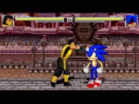 AN Mugen Request #10: Scorpion VS Sonic.exe