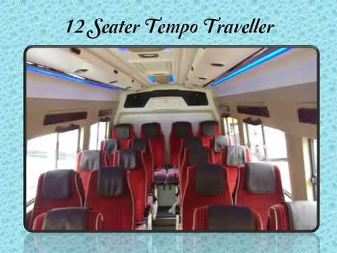 Hire Tempo Traveller in Gurgaon with Different Seating Capacity
