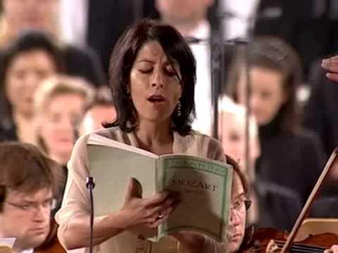 Mozart, Mass in C min. , Laura Polverelli - Zubin Metha