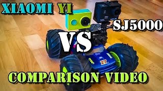 xiaomi Yi Action Camera vs SJ5000 (SJ5000 Plus)