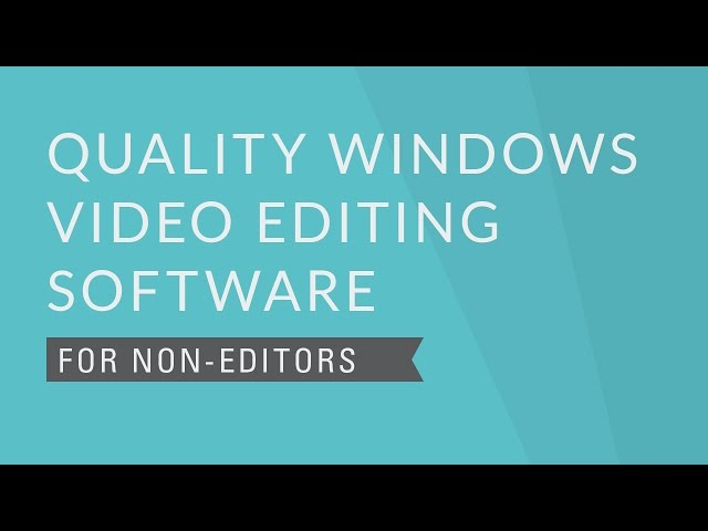 Looking for the Best FLV Video Editor? Here are Top 5 Options