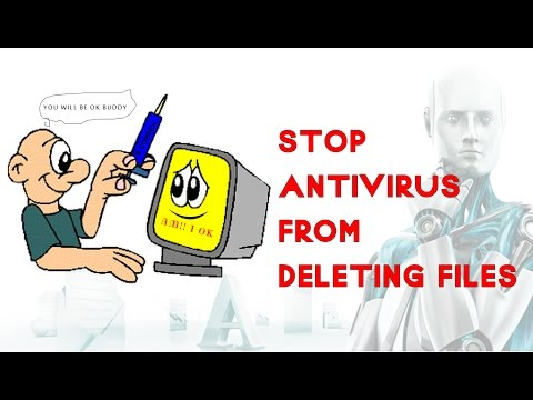How to recover Antivirus deleted files [.dll , crack files etc ]