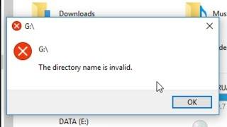 "Video Fix Error ""The directory name is invalid"" download MP3, 3GP, MP4, WEBM, AVI, FLV Juli 2018"