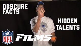 NFL Players & Coaches Reveal Their Hidden Talents & Obscure Facts | NFL Films Presents
