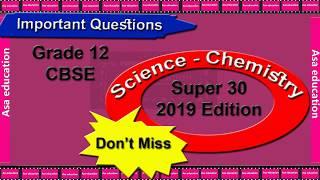 CBSE Class 12 Chemistry Paper