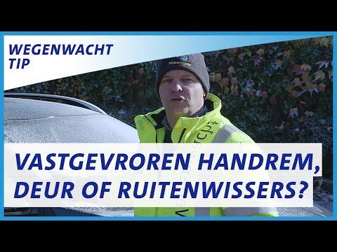 Wat doe je bij een vastgevroren handrem, deur, deurslot of ruitenwisser? ⛄❄  ANWB Wegenwachttips